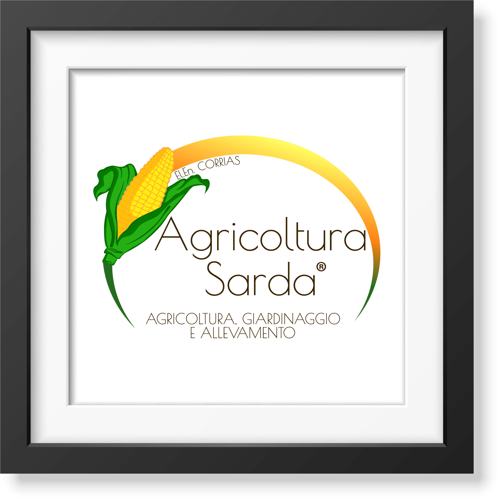 Agricoltura Sarda - studio e realizzazione logo e immagine coordinata