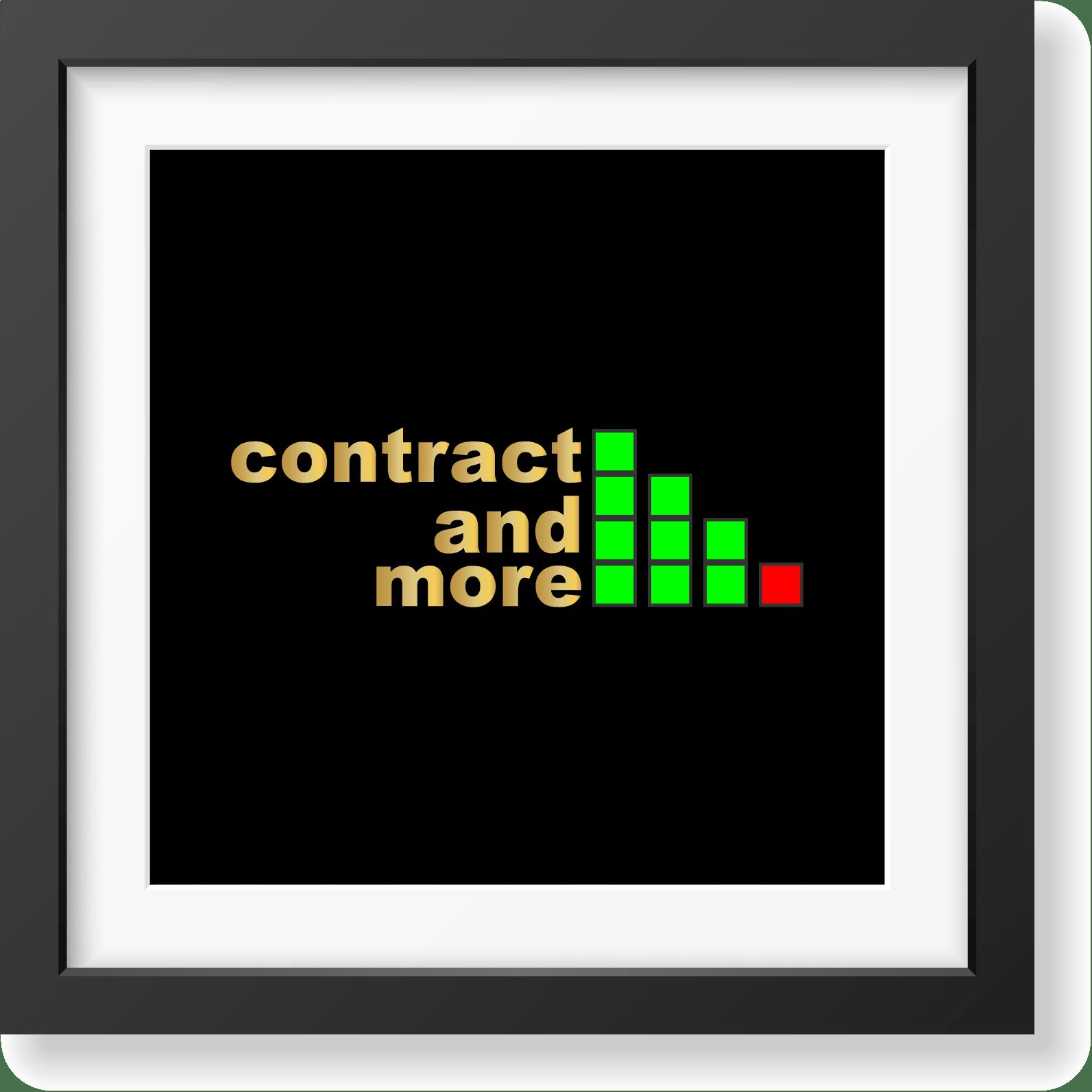 Contract and More - studio e realizzazione logo