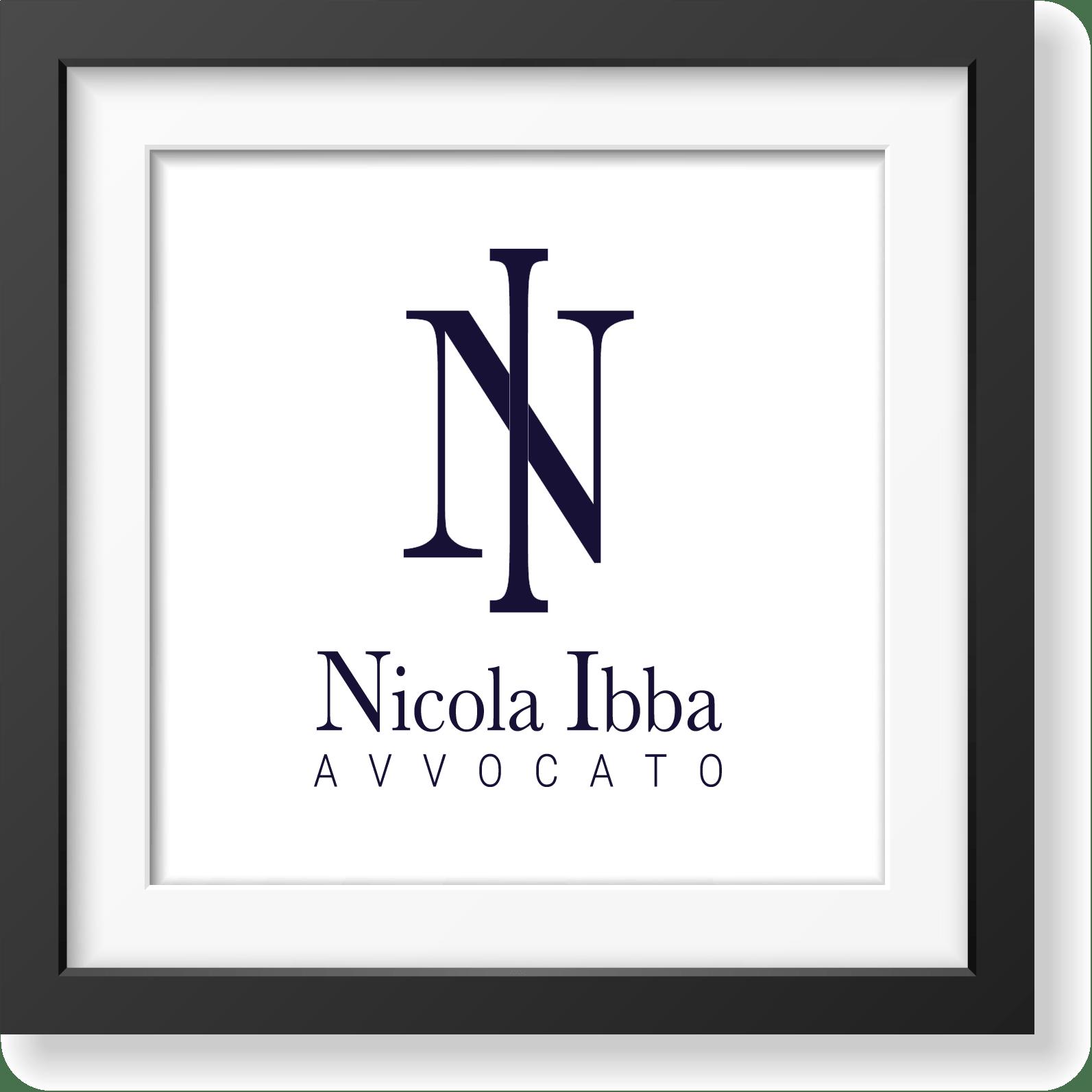 Avvocato Nicola Ibba - studio e realizzazione logo e immagine coordinata