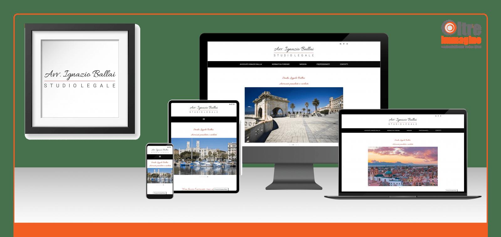 Studio Legale Ballai - studio e realizzazione logo e sito web responsive