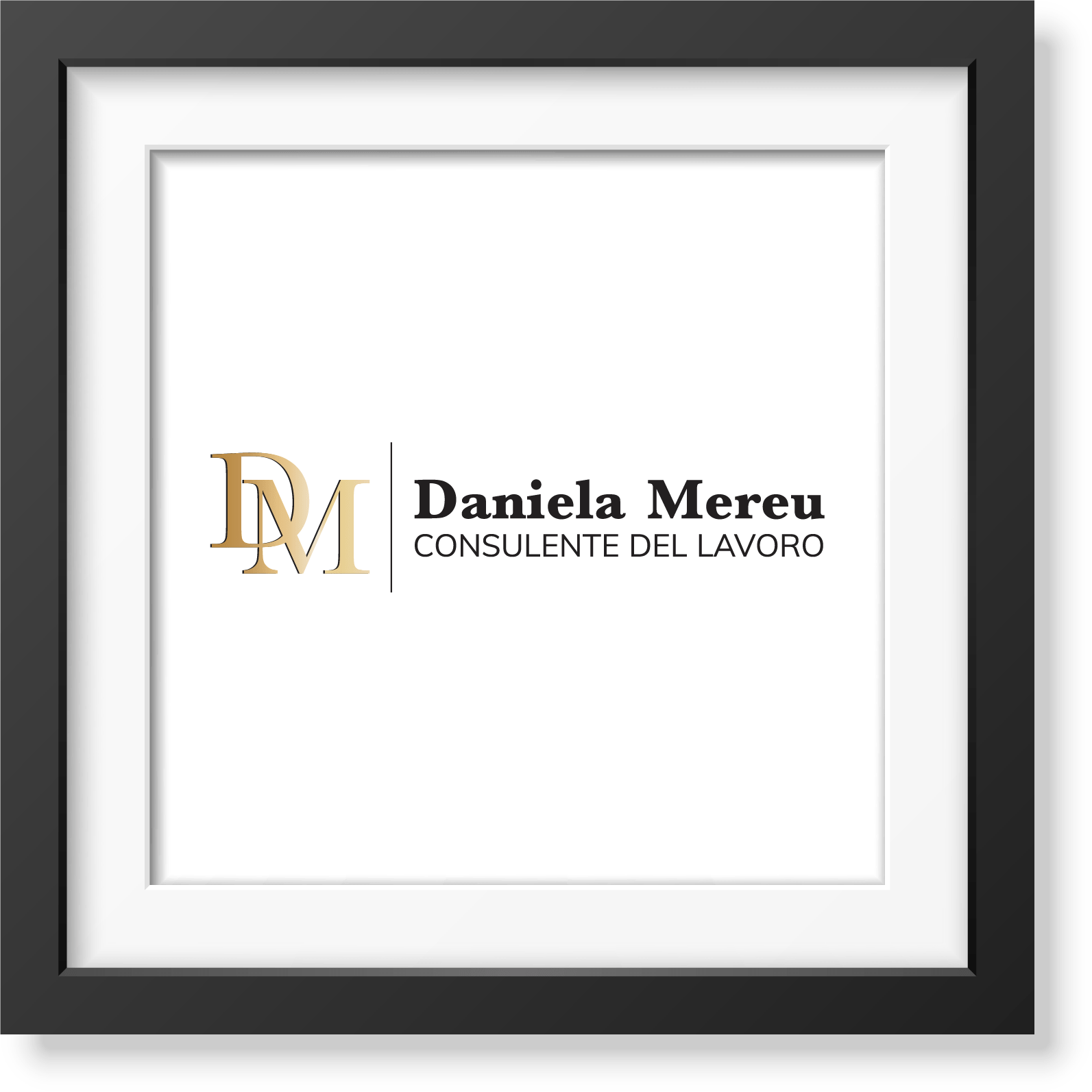 Daniela Mereu - Consulente del Lavoro - studio e realizzazione logo