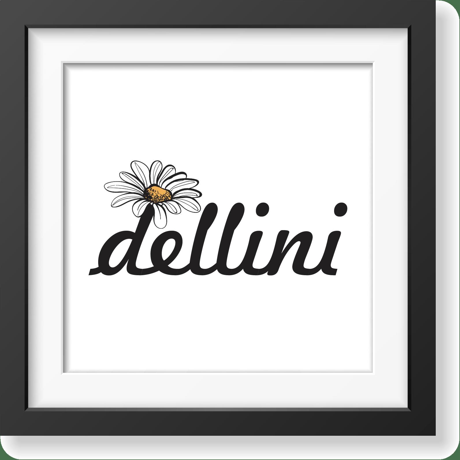 Dellini - studio e realizzazione logo e naming
