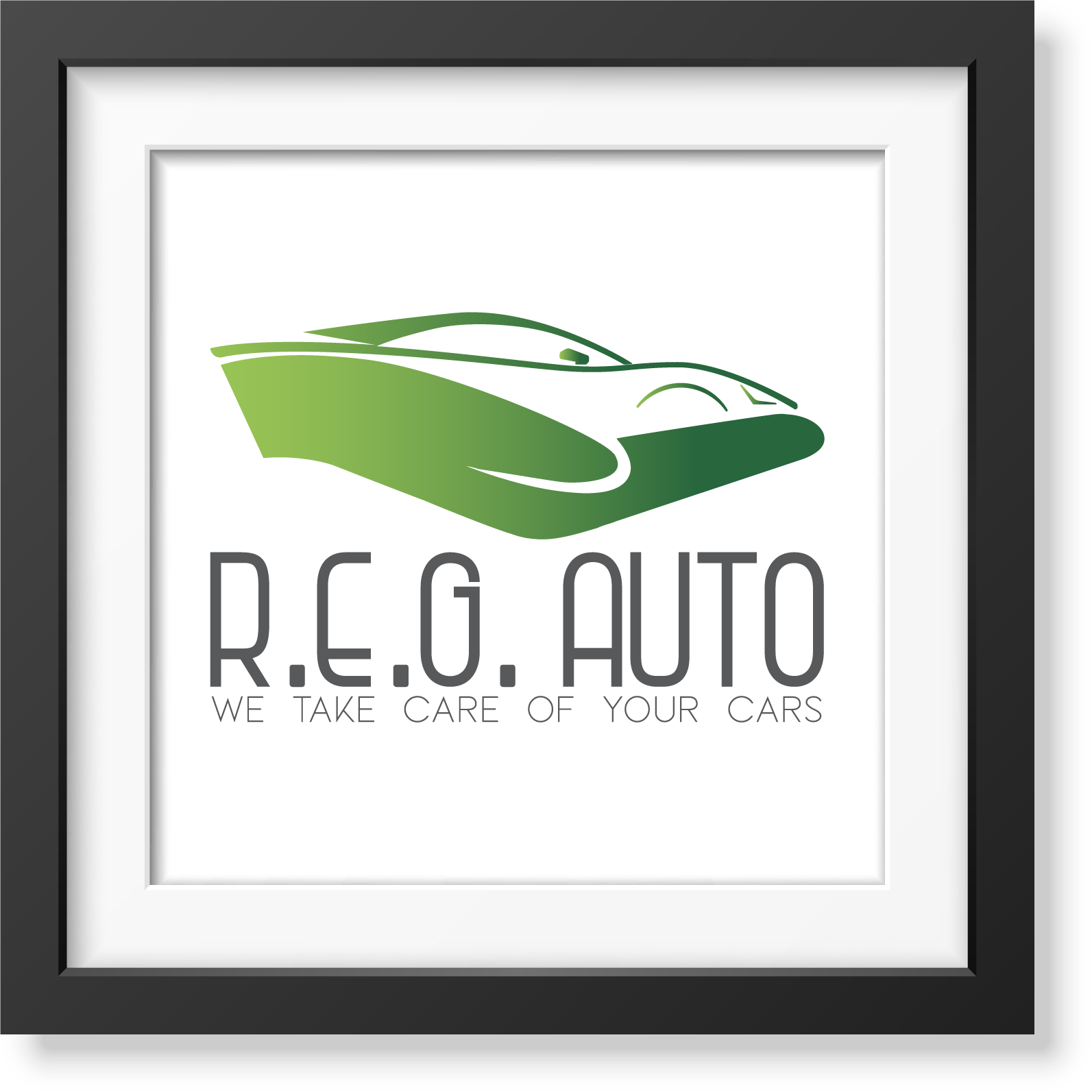 R.E.G. Auto - studio e realizzazione logo