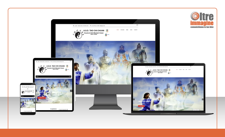 A.S.D. Tao Chi Chuan - realizzazione sito web responsive