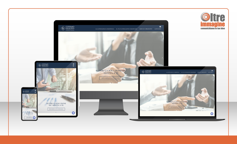 Cosimo Demuro - Consulente Creditizio - realizzazione sito web responsive