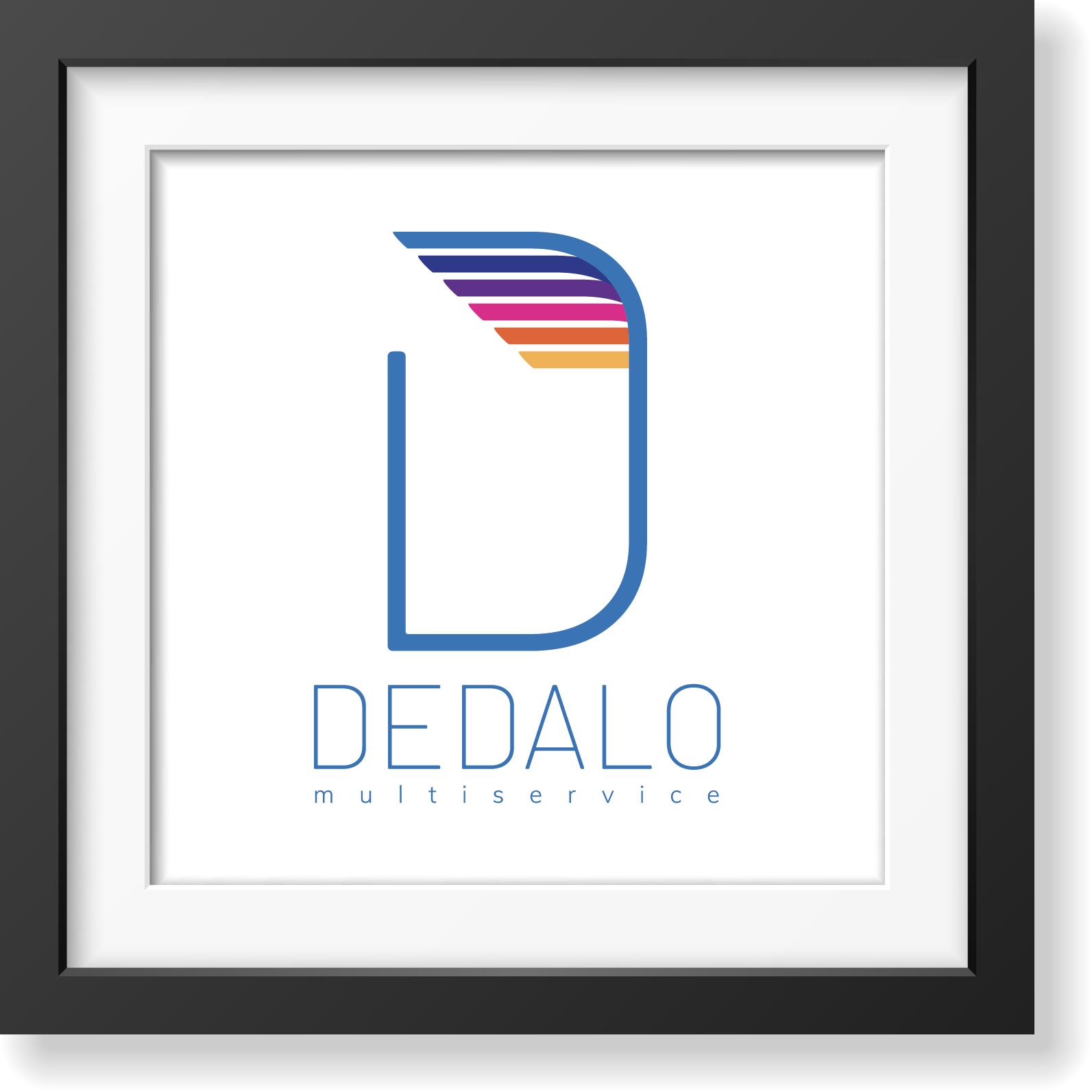Dedalo multiservice - studio e realizzazione logo