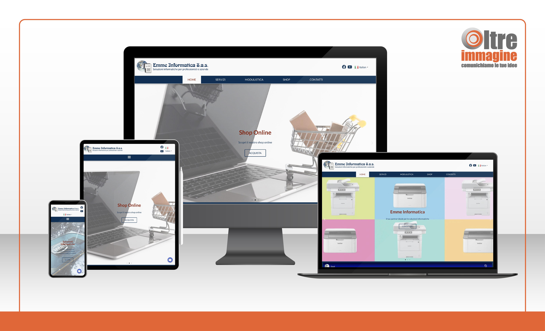 Emme Informatica s.a.s. - realizzazione sito web responsive