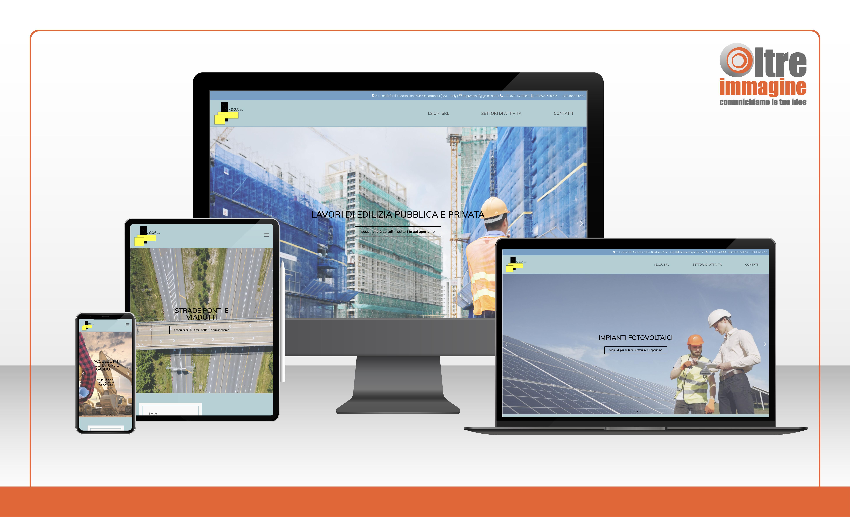 I.S.O.F. srl - realizzazione sito web responsive