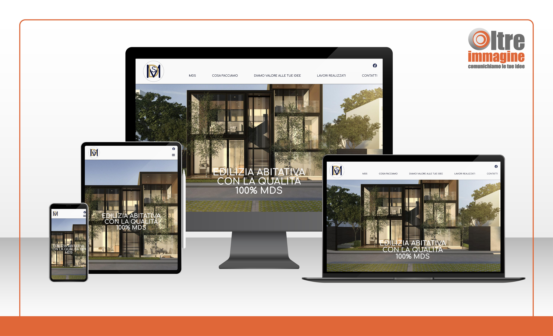 MDS costruzioni - realizzazione sito web responsive